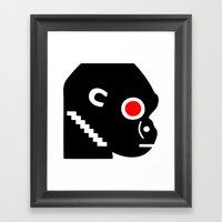 Zelonicus Monkey Framed Art Print