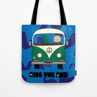 Ride the Bus - Boy Tote Bag