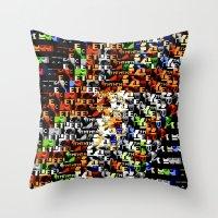 > NES V4 Throw Pillow