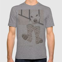 Pipo Mens Fitted Tee Athletic Grey SMALL