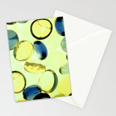 Yellow buttons Stationery Cards