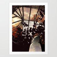 Glass House Art Print