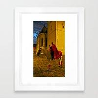 Devil At Midnight Framed Art Print