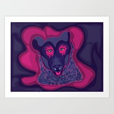 Himalayan Bear Art Print