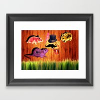 Everybody Want The CHEES… Framed Art Print
