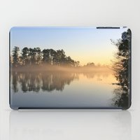 Misty Lake in Color iPad Case