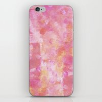 Abstract Pink Painting iPhone & iPod Skin