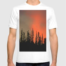 Who Needs Skyscrapers? White Mens Fitted Tee SMALL