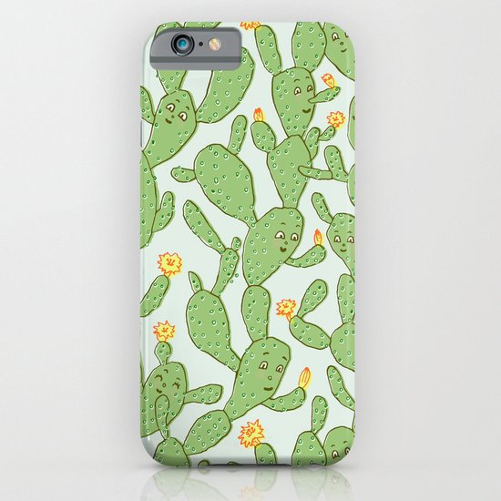 Happy Cactus | Pattern iPhone & iPod Case