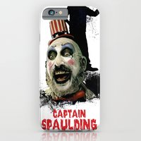 iPhone & iPod Case featuring Captain Spaulding: Monster Madness Series by SRB Productions