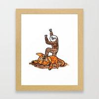 Only Sloth Framed Art Print
