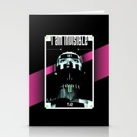 I AM INVISIBLE Stationery Cards