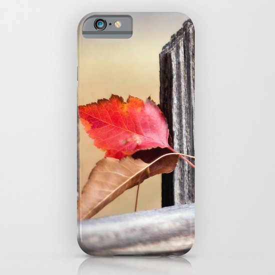On the Fence iPhone & iPod Case