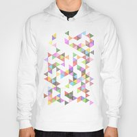 Technicolour Raindrops Hoody