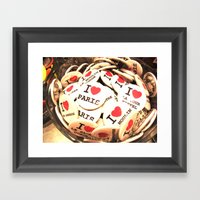 I love Paris Framed Art Print