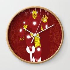 The Metalurgik Wall Clock