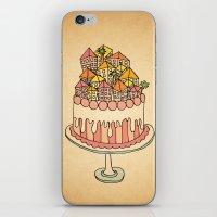Cake Town iPhone & iPod Skin