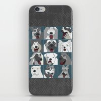 Dogs Vertical iPhone & iPod Skin