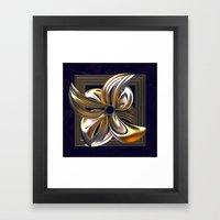 Gilded Lily Framed Art Print