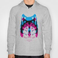 Wolf CMYK Hoody