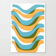 Wave - Palm Springs Circa 1967 Canvas Print
