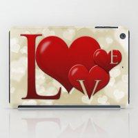 Love! Love! Love!  iPad Case