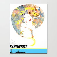 SYNTHESIZE Canvas Print