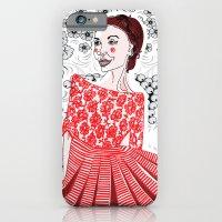 Red Dress iPhone 6 Slim Case