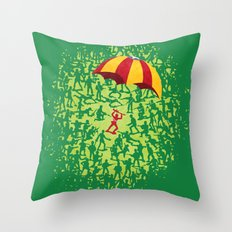 Captured! Throw Pillow