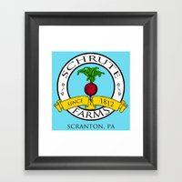 Schrute Farms | The Offi… Framed Art Print