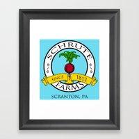 Schrute Farms   The Offi… Framed Art Print