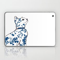 Floral Kitten Laptop & iPad Skin