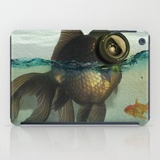 Fish eye lens iPad Case