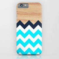 Chevron & Wood iPhone 6 Slim Case