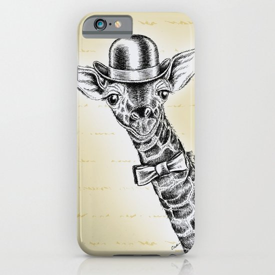 I'm too SASSY for my hat! Giraffe. iPhone & iPod Case