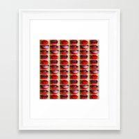 LEEPS&TEETH Framed Art Print