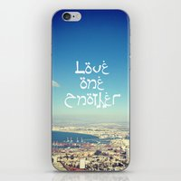 Love One Another iPhone & iPod Skin