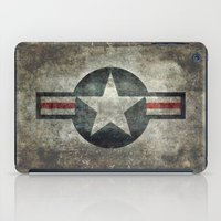Stylized Tribute of the US Air force Roundel insignia #1 iPad Case