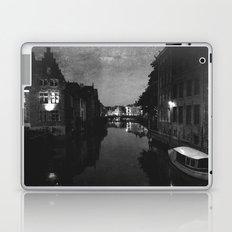 late night in Ghent  Laptop & iPad Skin