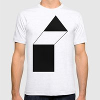 haus 1 Mens Fitted Tee Ash Grey SMALL