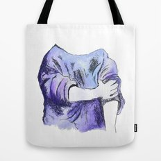 Rolled up Tote Bag