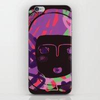 Protect_BLACK iPhone & iPod Skin