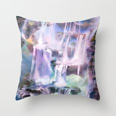 Flooded Strand Throw Pillow