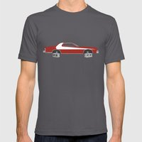 Starsky and Hutch Mens Fitted Tee Asphalt SMALL