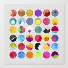 Dots - I Canvas Print