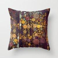 Enchanted Autumn -- Pain… Throw Pillow
