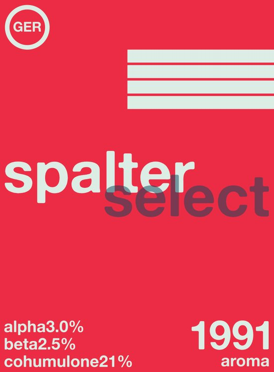 spalter select single hop Art Print