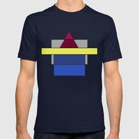 With You  Mens Fitted Tee Navy SMALL