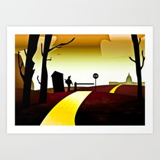The Wizards of Oz Art Print