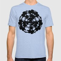Anja Bigrell - The explosion2 Mens Fitted Tee Tri-Blue SMALL